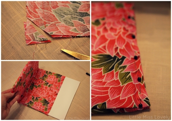 DIY iPad Case by Little Miss Lovely