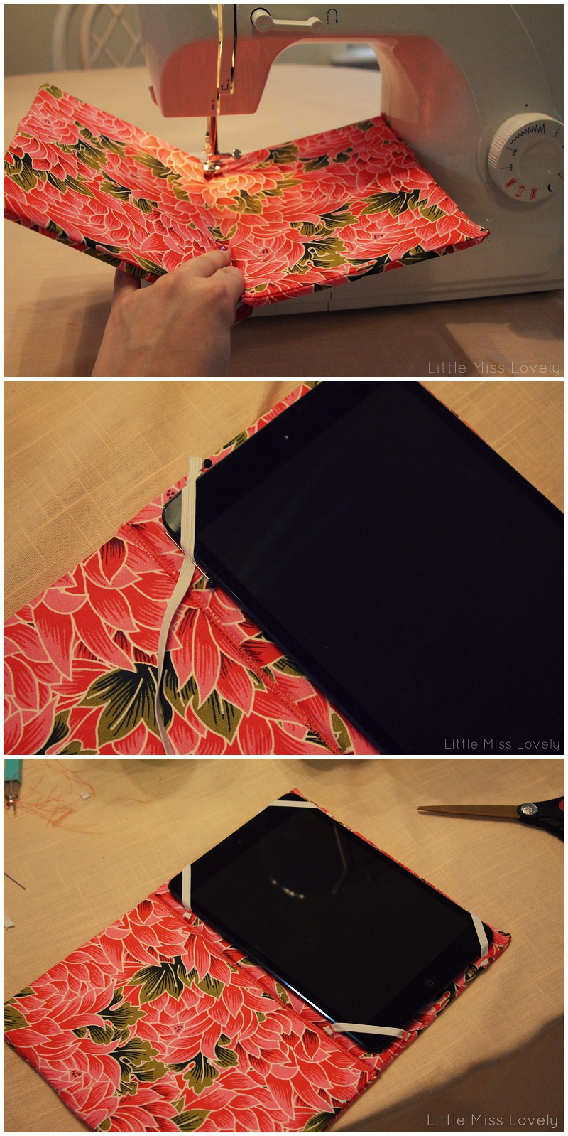 DIY: Create an iPad Case for $5 in 1 hour - Little Miss ...