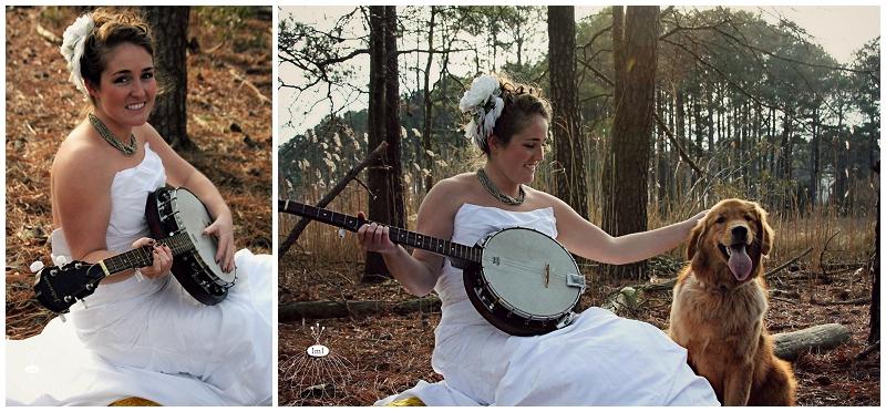 Banjo Photo Shoot Bridal, Ocean Pines, MD