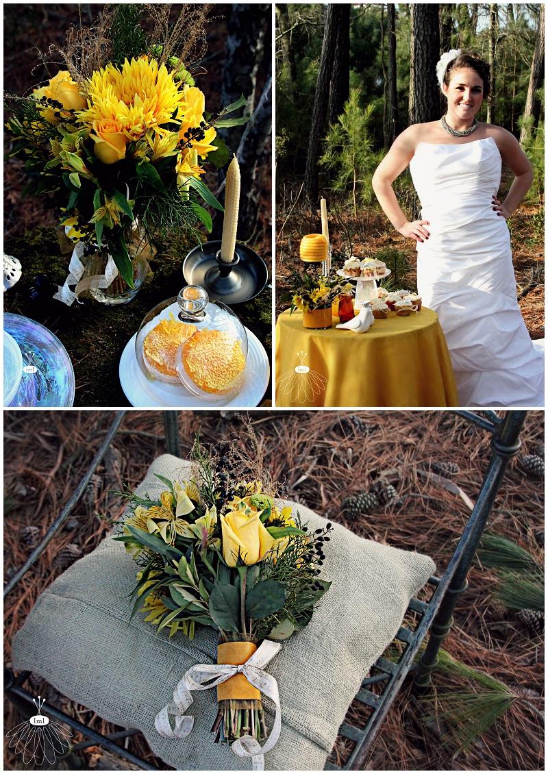 Little Miss Lovely, Berlin, MD - Honey Themed Wedding