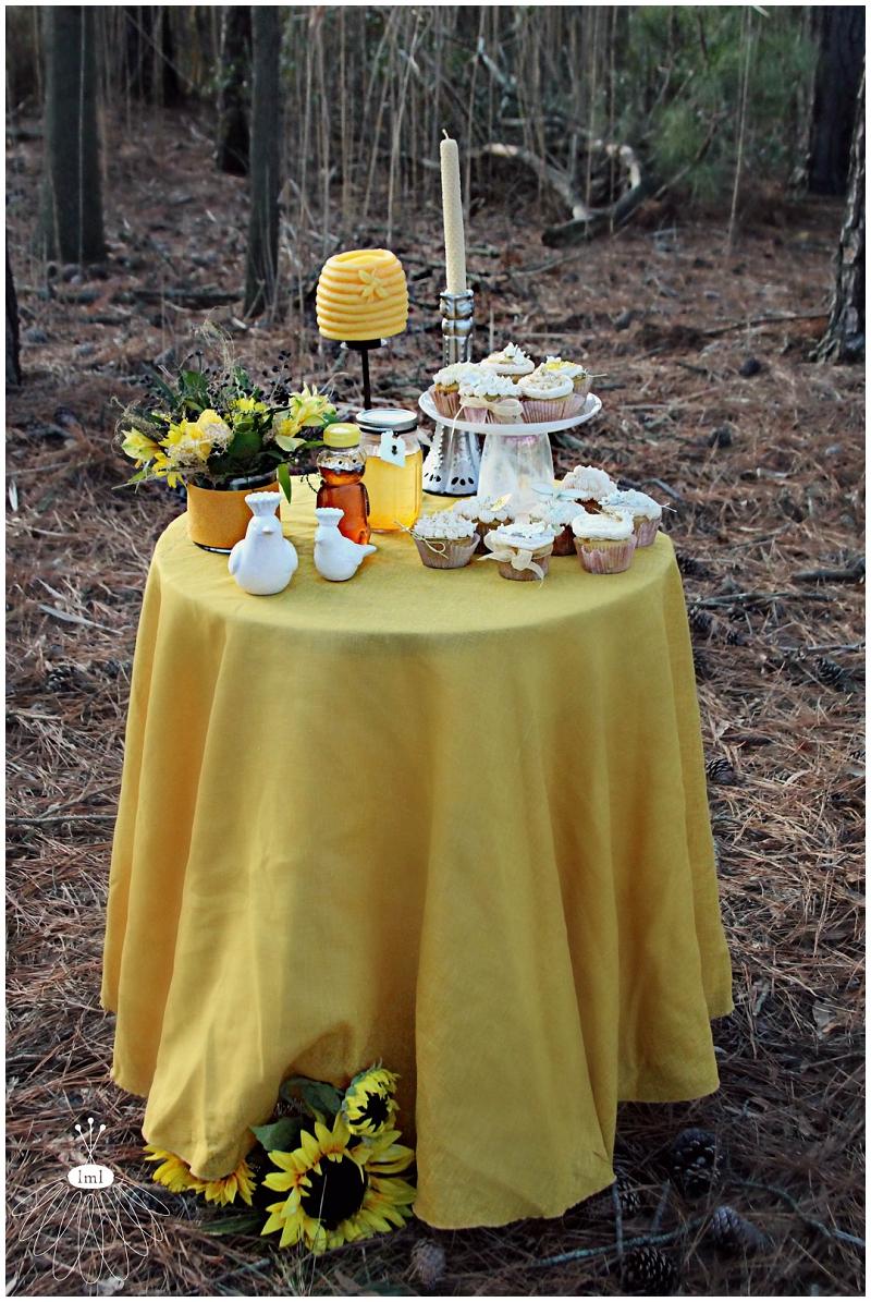Little Miss Lovely Dessert Table, Ami Reist, Honey