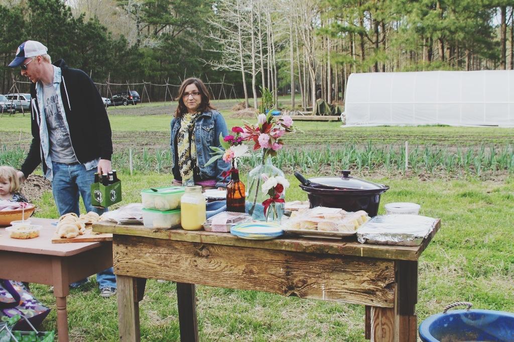 Little Miss Lovely Flower Grower - The Good Farm - Eleven Forks Dinner (4)
