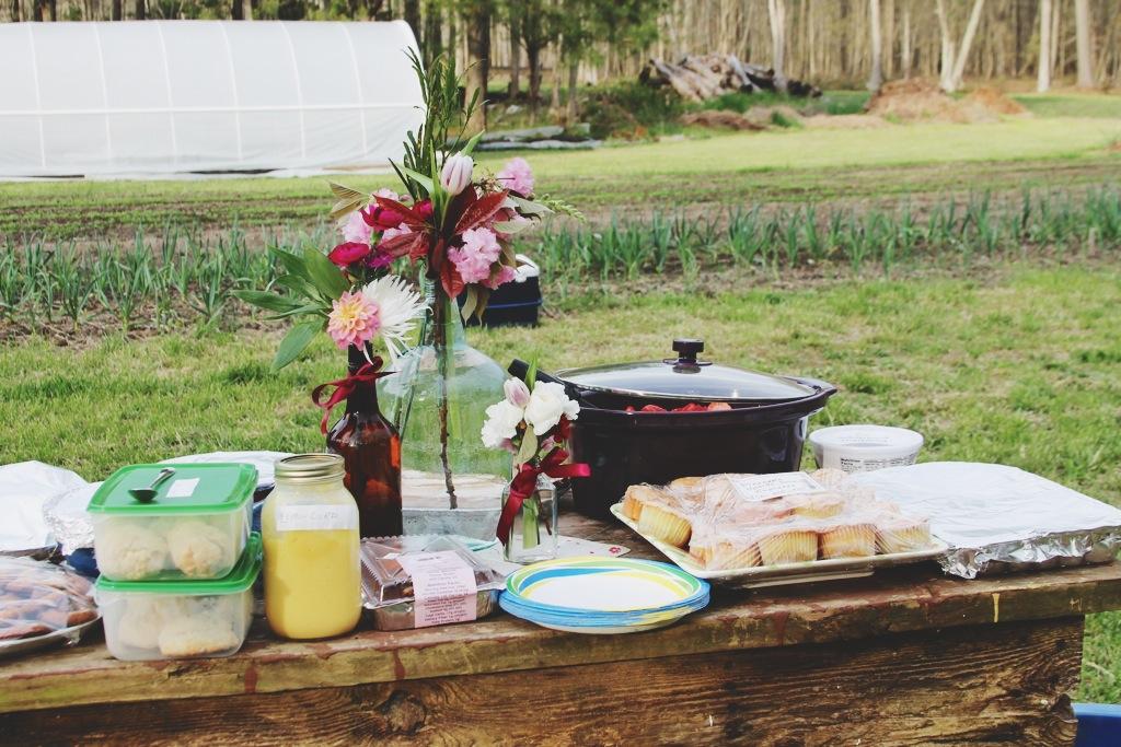 Little Miss Lovely Flower Grower - The Good Farm - Eleven Forks Dinner (6)