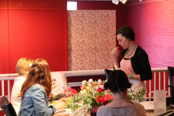 Little Miss Lovely Flower Workshop - The Globe - Berlin MD (9)