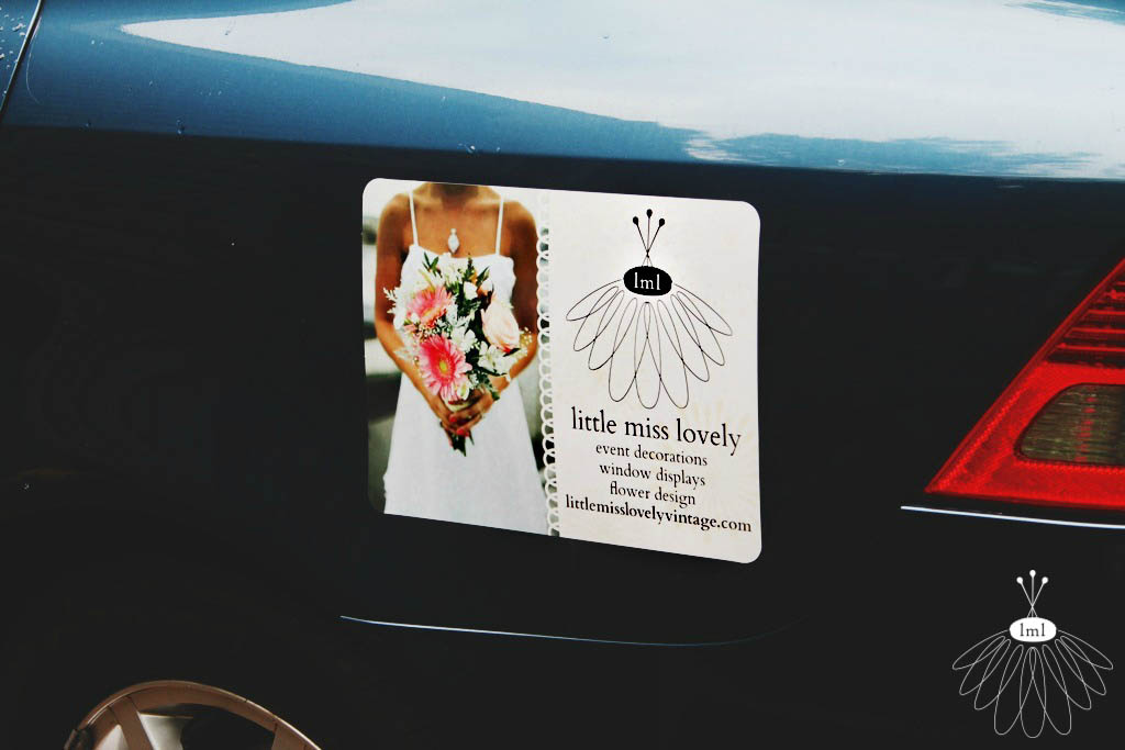 Little Miss Lovely Car Stickers
