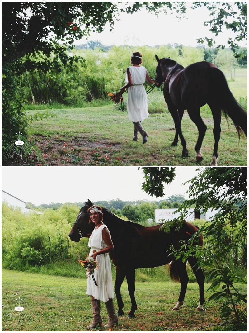 Little Miss Lovely - Bohemian Horse Shoot - Raggamuffin - Florist (1)