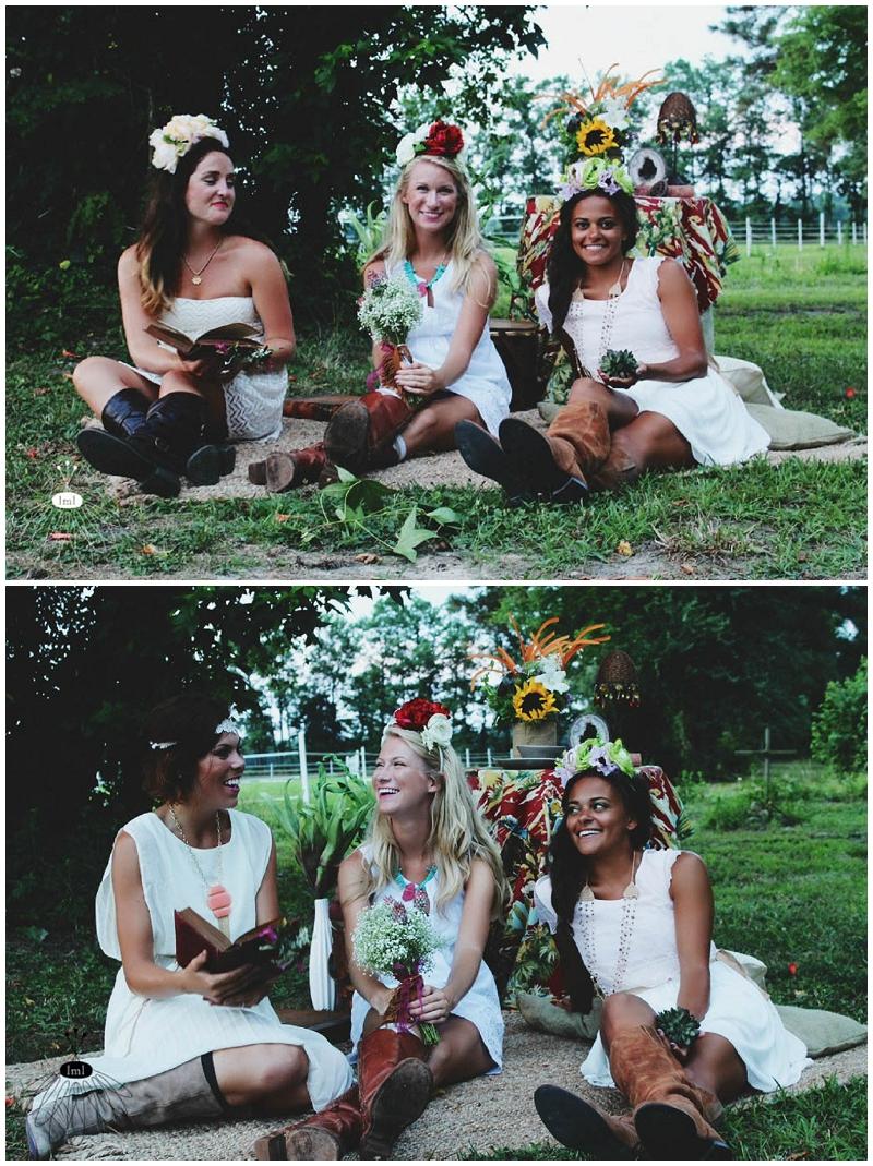 Little Miss Lovely - Bohemian Horse Shoot - Raggamuffin - Florist (11)
