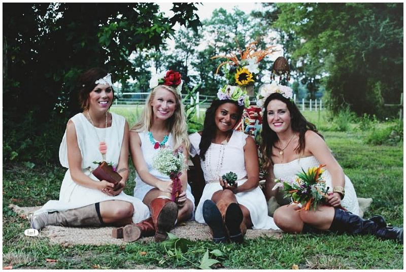 Little Miss Lovely - Bohemian Horse Shoot - Raggamuffin - Florist (12)