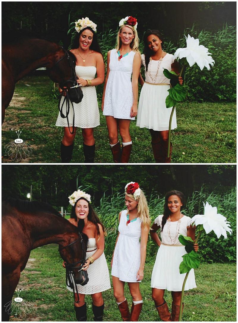 Little Miss Lovely - Bohemian Horse Shoot - Raggamuffin - Florist (2)