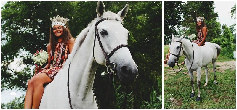 Little Miss Lovely - Bohemian Horse Shoot - Raggamuffin - Florist (21)