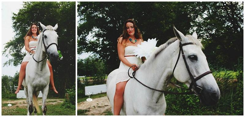 Little Miss Lovely - Bohemian Horse Shoot - Raggamuffin - Florist (22)