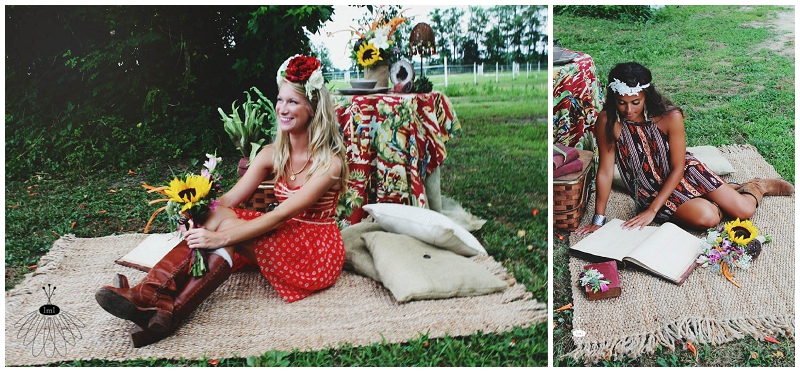 Little Miss Lovely - Bohemian Horse Shoot - Raggamuffin - Florist (29)