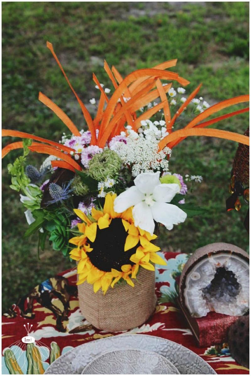 Little Miss Lovely - Bohemian Horse Shoot - Raggamuffin - Florist (6)
