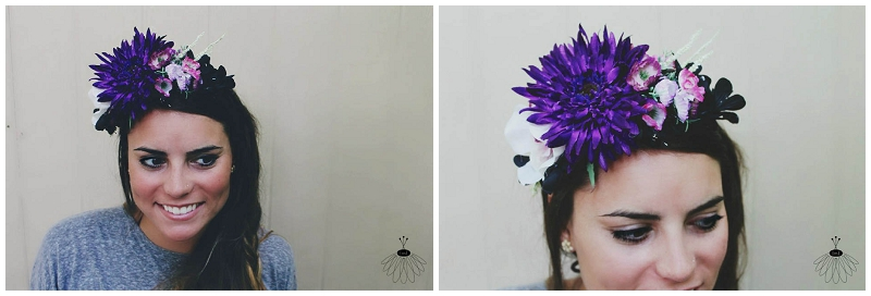 Little Miss Lovely - Custom Flower Crowns - Festival Wedding (2)