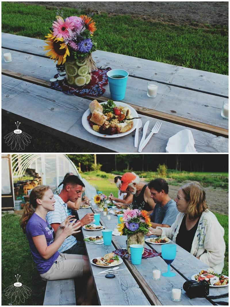 little miss lovely good farm eleven forks dinner