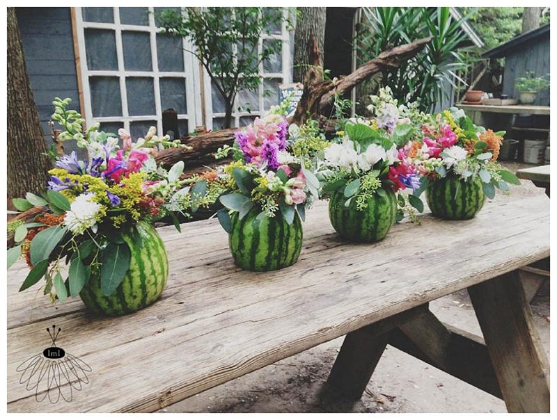 Little Miss Lovely - Watermelon Flower Arrangements (1)