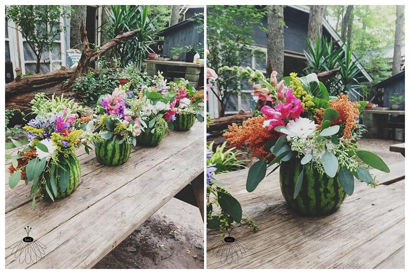Little Miss Lovely - Watermelon Flower Arrangements (2)