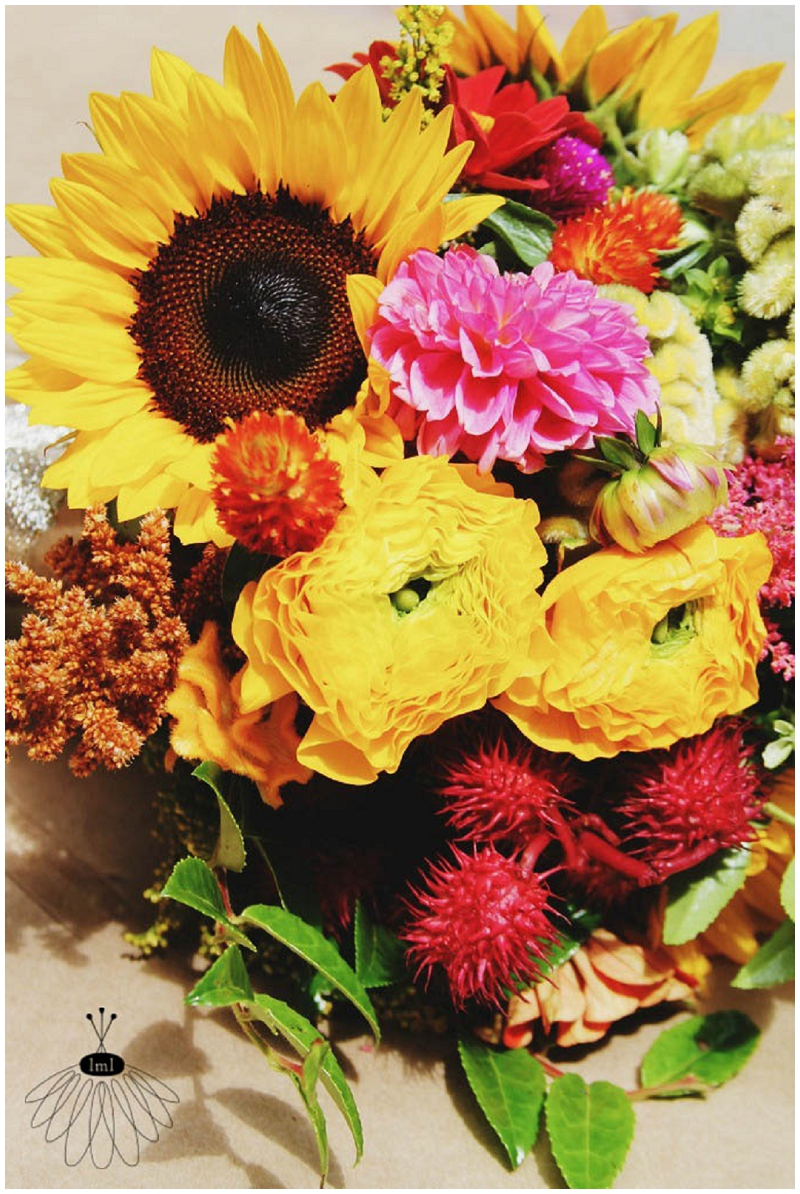 Little Miss Lovely - Wildflower Beach Wedding - Assateague Island - Florist (10)