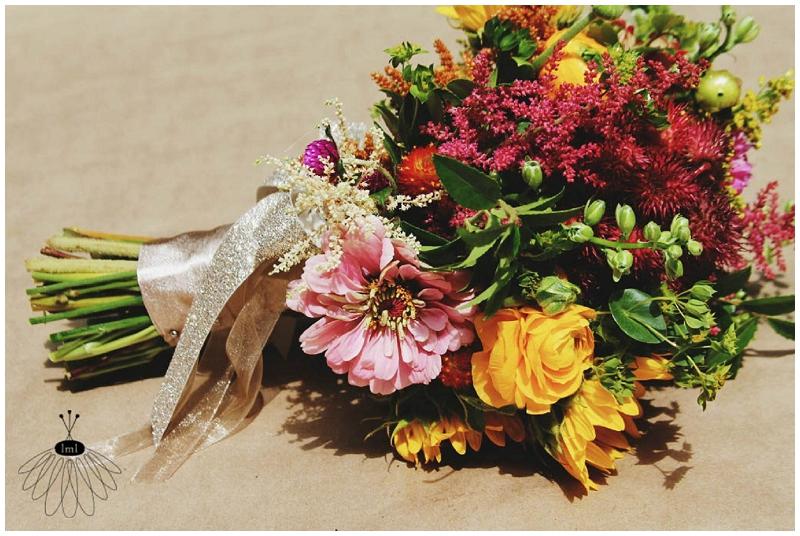 Little Miss Lovely - Wildflower Beach Wedding - Assateague Island - Florist (12)