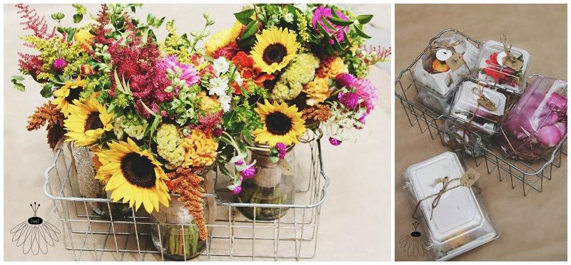 Little Miss Lovely - Wildflower Beach Wedding - Assateague Island - Florist (2)