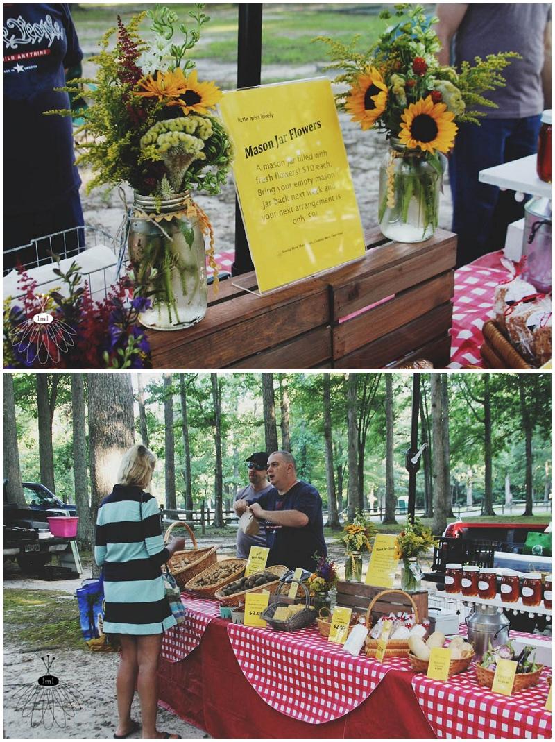 Ocean Pines Farmers Market - Little Miss Lovely - The Good Farm - Flowers & Honey (3)