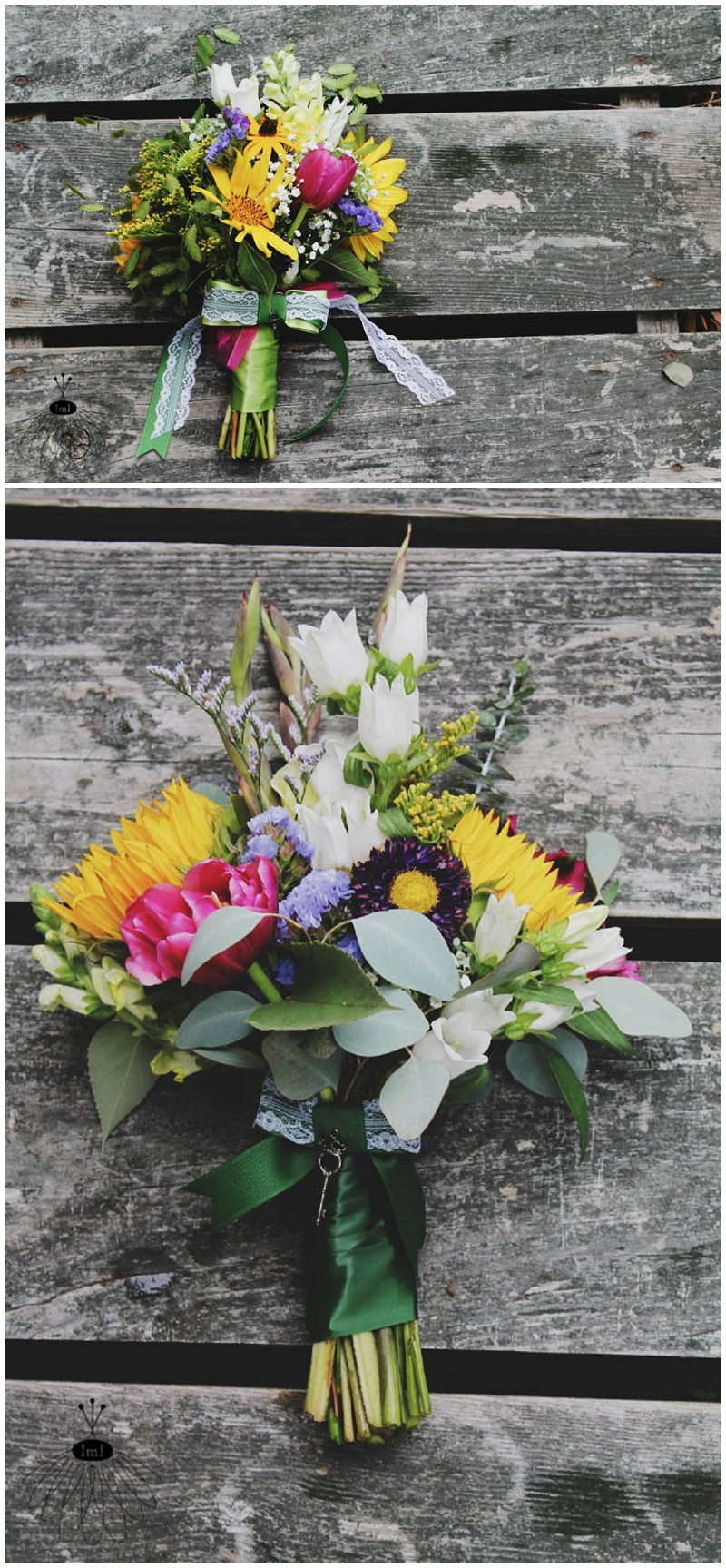 sunflower tulip bouquets by Little Miss Lovely (1)