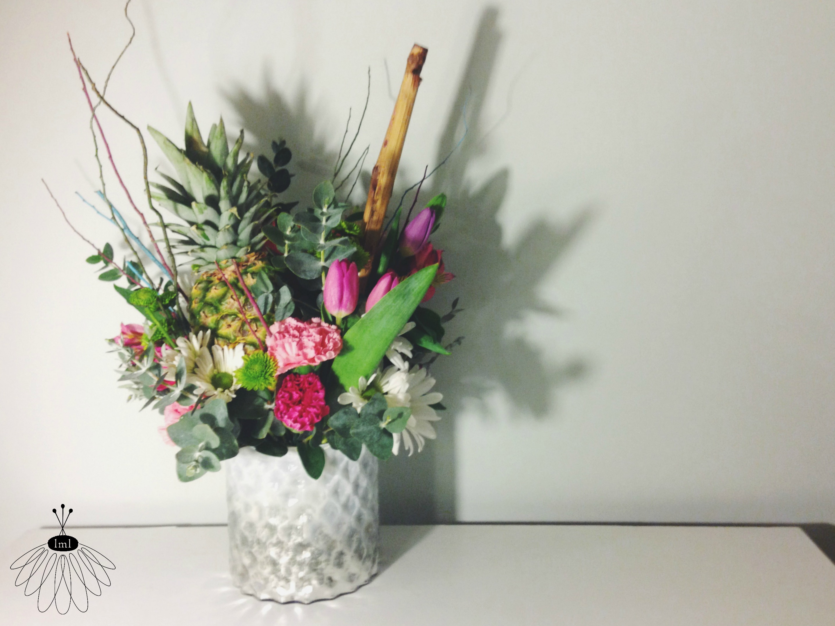 Little Miss Lovely // Pineapple Sympathy Arrangement