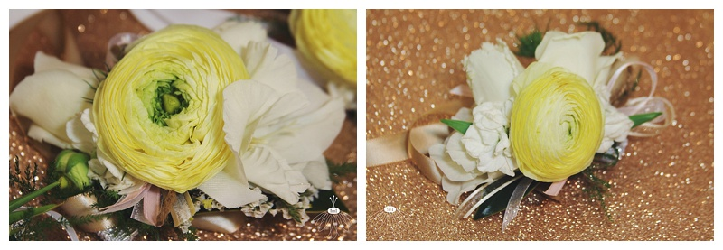 Little Miss Lovely // White Ivory Tulip Ranunculus Wedding Wrist Corsage