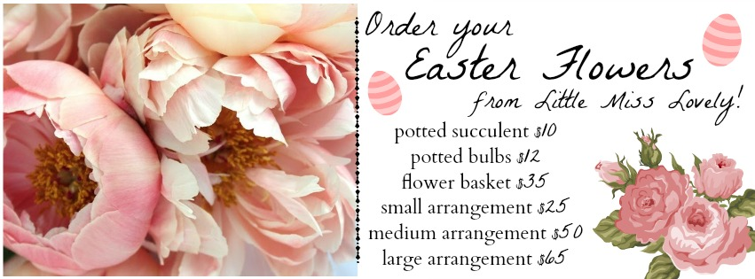 Little Miss Lovely // Easter Flower Pricing