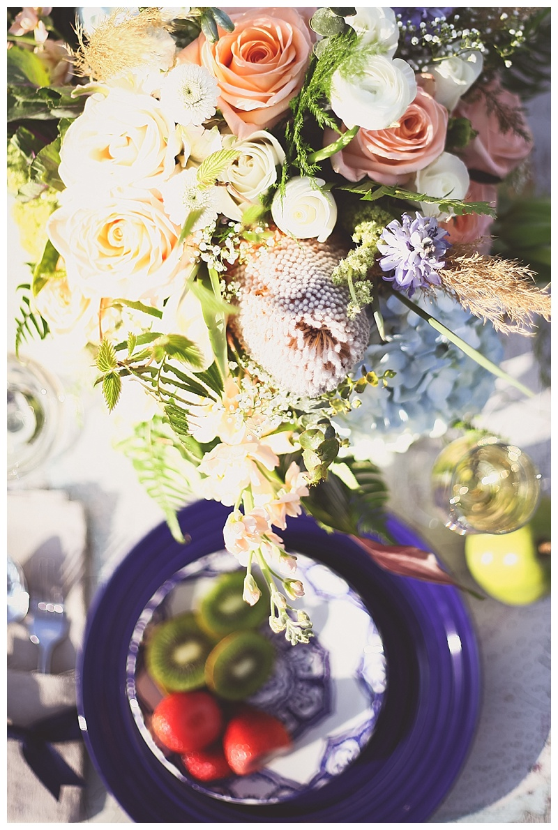 Woodsy Bohemian Spring Styled Bridal Shoot // Little Miss Lovely // Berlin MD Wedding Florist