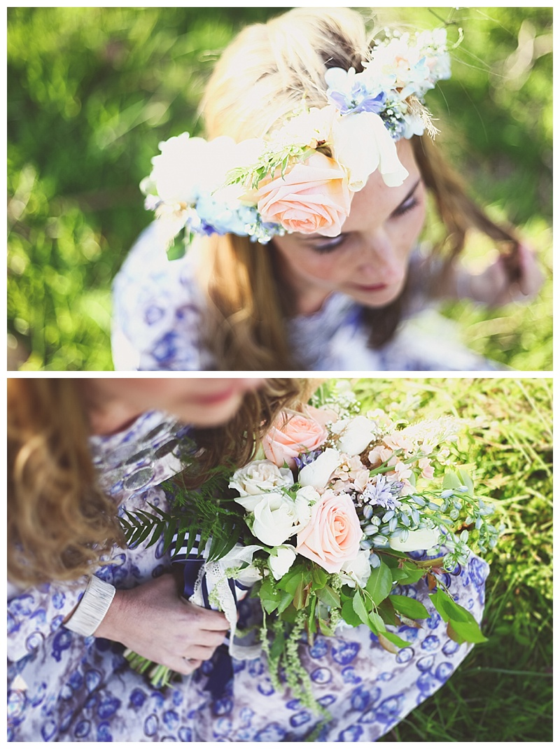 Woodsy Bohemian Spring Styled Bridal Shoot // Little Miss Lovely // Woodland Travel Theme