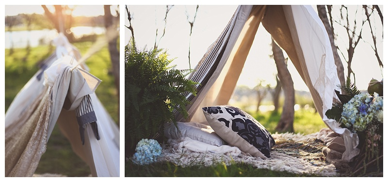 Woodsy Bohemian Spring Styled Bridal Shoot // Little Miss Lovely // Berlin MD