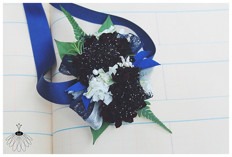 prom wrist corsage // little miss lovey