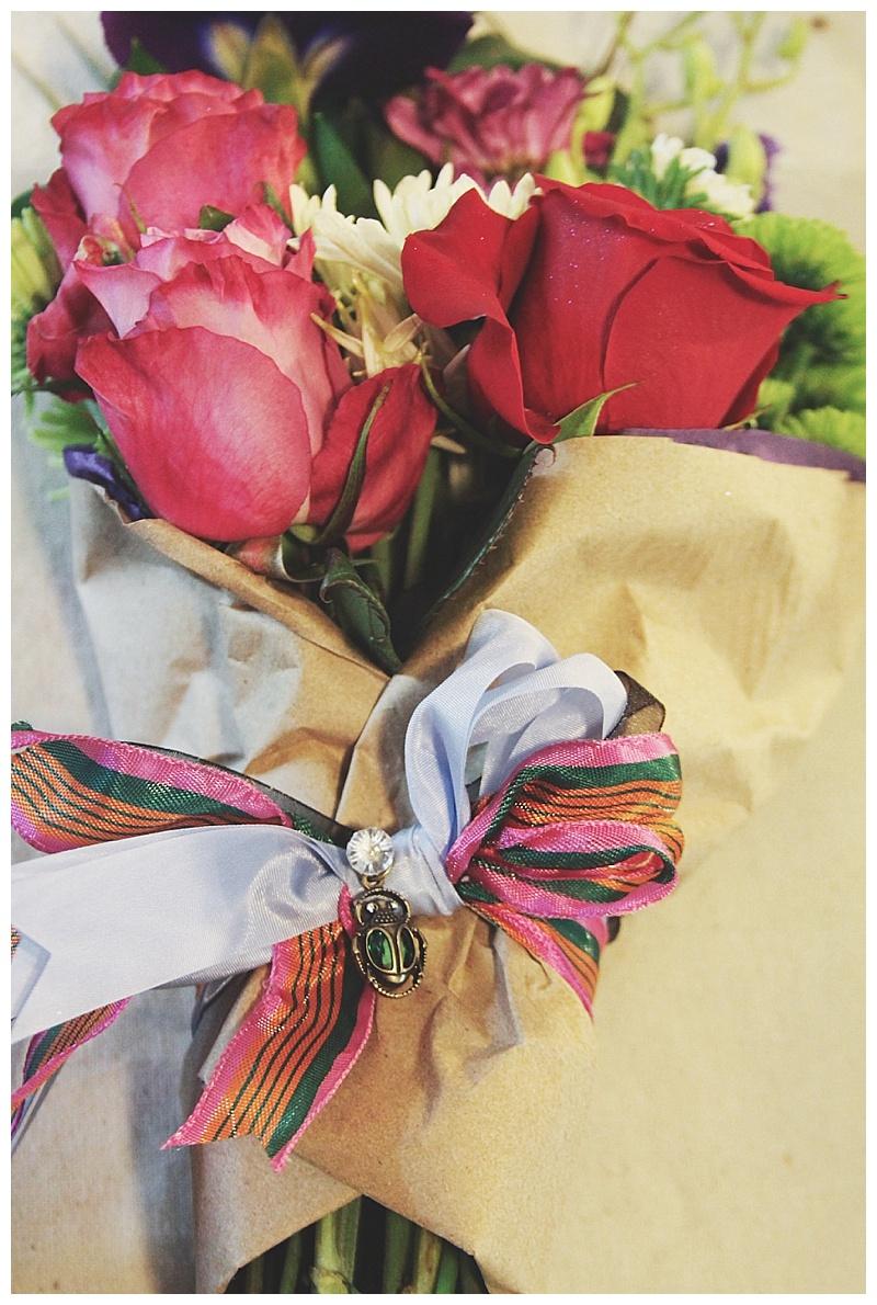 dance recital presentation bouquet // little miss lovely