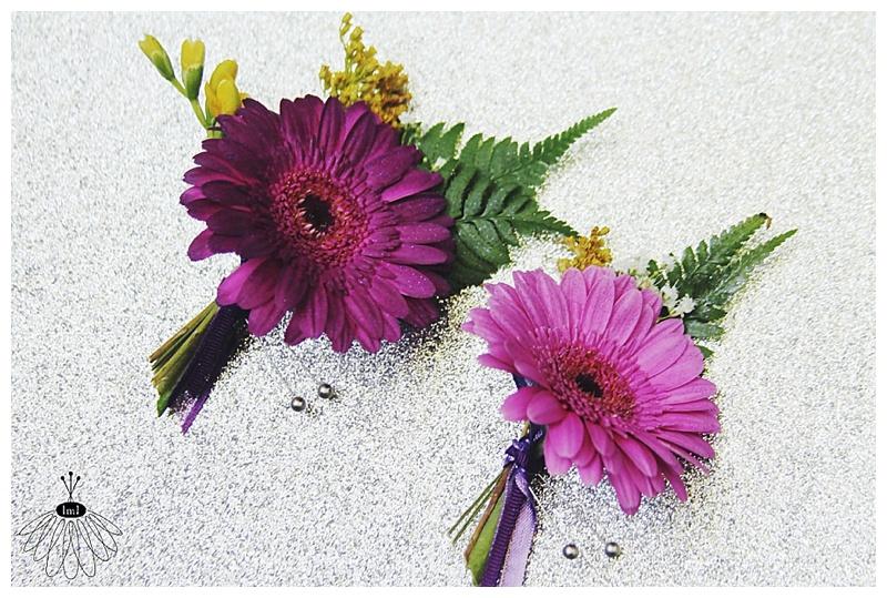 little miss lovely // gerber daisy boutonniere // ocean city md florist