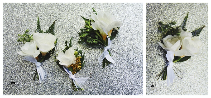 little miss lovely // white freesia father and grandfather boutonnieres // ocean city md wedding florist