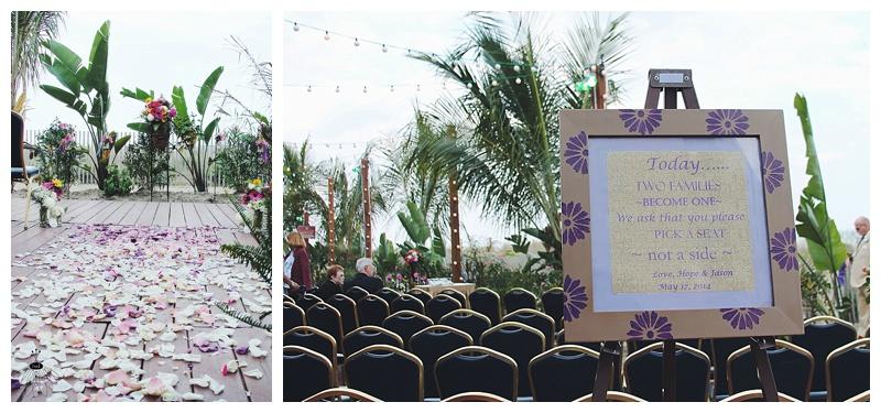 little miss lovely // ocean city md and berlin wedding florist // beach wedding