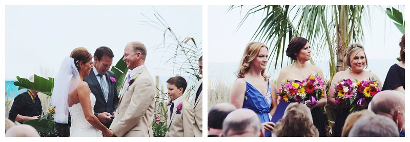 little miss lovely // ocean city md wedding florist // clarion hotel wedding