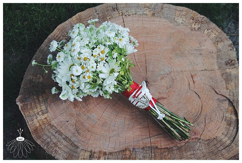 little miss lovely // nautical red white blue wedding // berlin md // wedding florist // daisy bouquet