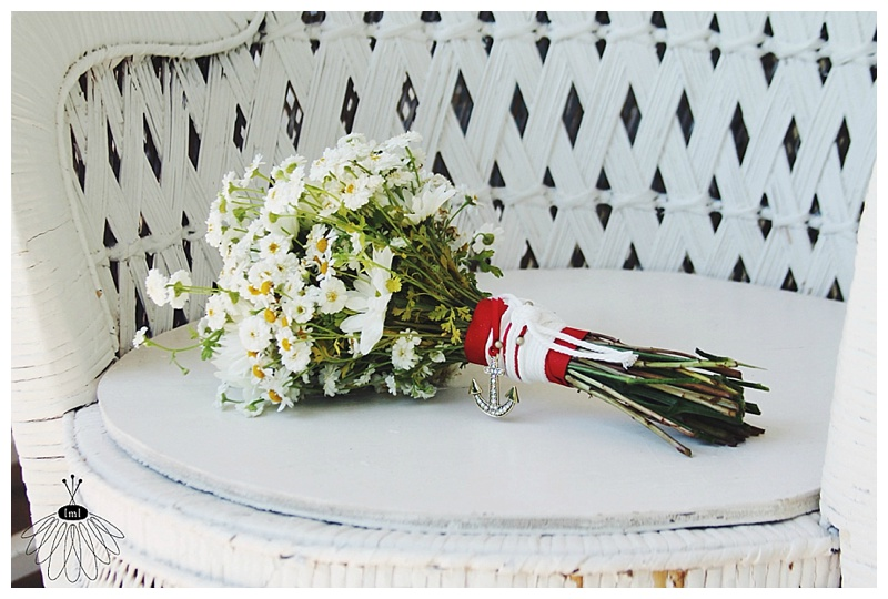 little miss lovely // nautical red white blue wedding // berlin md // wedding florist // merry sherwood plantation // berlin, md