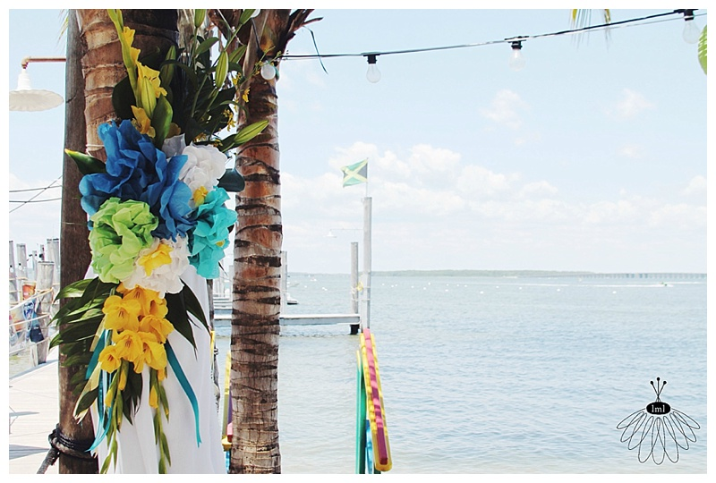 little miss lovely // wedding florist // beach wedding // seacrets // ocean city, md
