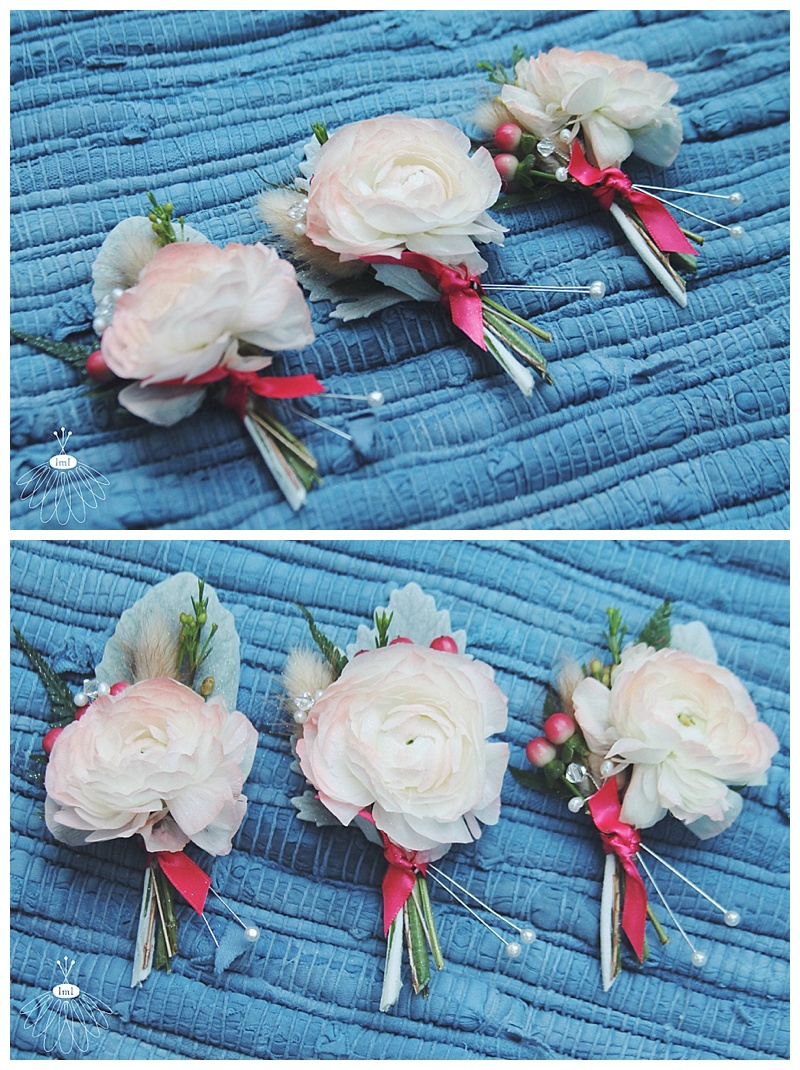 little miss lovely // ocean city, md wedding florist // beach wedding // coral ranunculus boutonniere