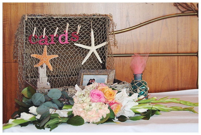 little miss lovely // ocean city, md wedding florist // beach wedding // Golden Sands // coral ivory