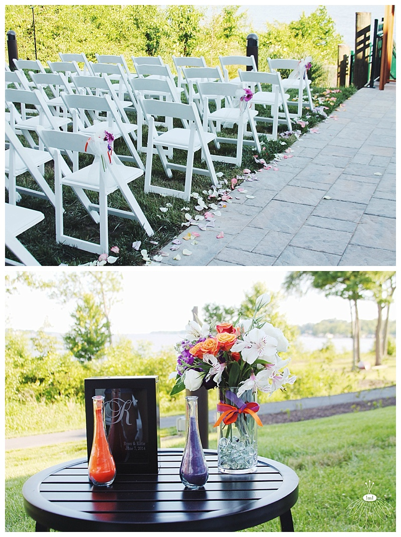 little miss lovely // wedding florist // baltimore md wedding // water's edge events center archway