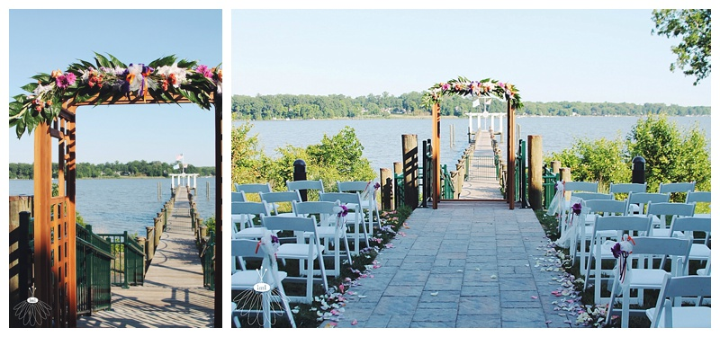 little miss lovely // wedding florist // baltimore md wedding // water's edge events center