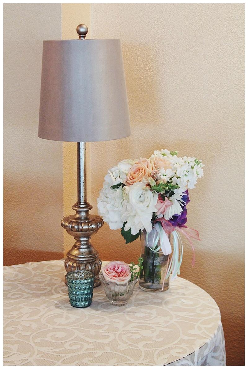 little miss lovely // ocean city md wedding florist // coconut malorie // peach white wedding flowers