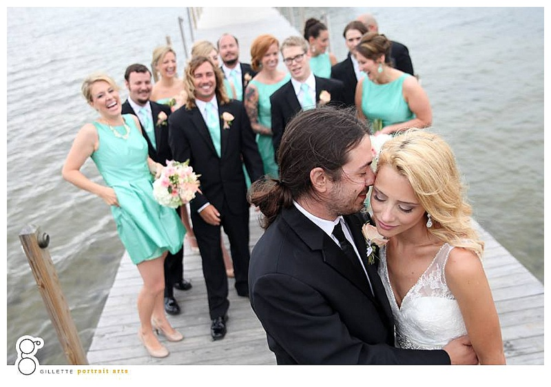 little miss lovely // wedding florist // ocean city md // photo by gillette portrait arts