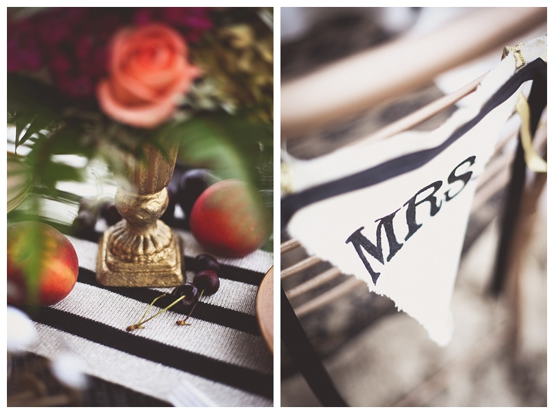 mid century modern black and white wedding inspiration // little miss lovely // ocean city maryland florist