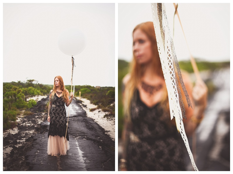 baltimore boulevard assateague bridal portrait