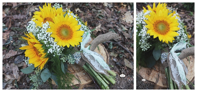 Little Miss Lovely // Berlin Wedding Florist // Sunflower wedding bouquet